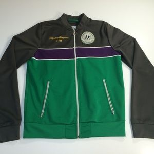 Hollister Vintage Inspired Tennis Track Jacket